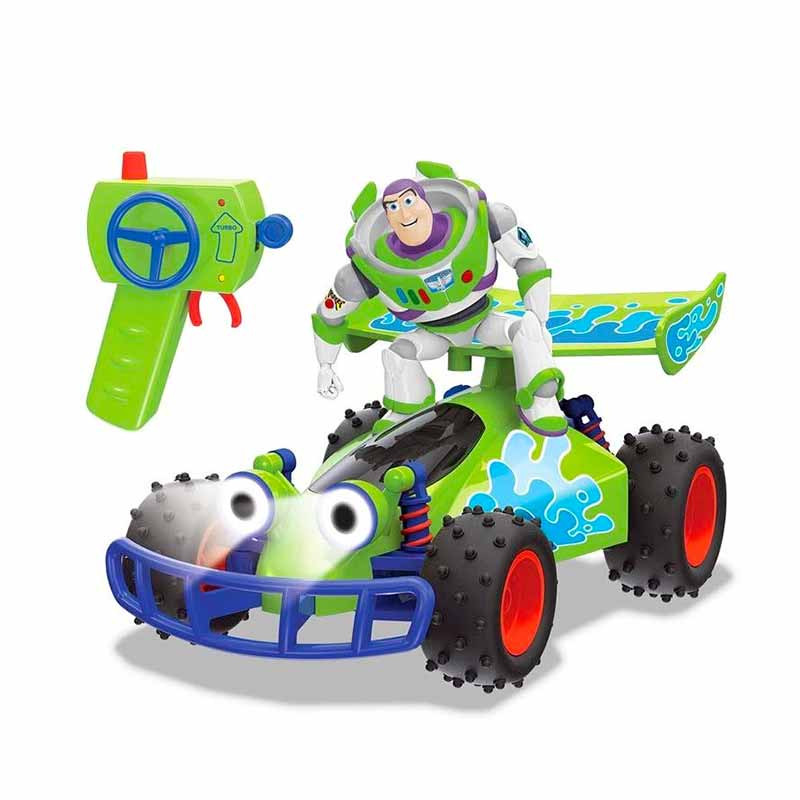 TOY STORY 4 RC BUGGY CON BUZZ 1:18