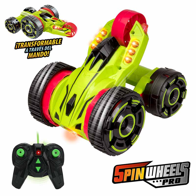 Coche RC Xtrem Riders Spinwheels PRO