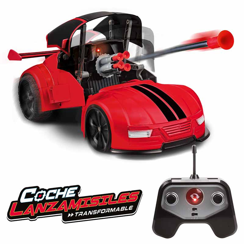 Coche RC Lanzamisiles - Transformable