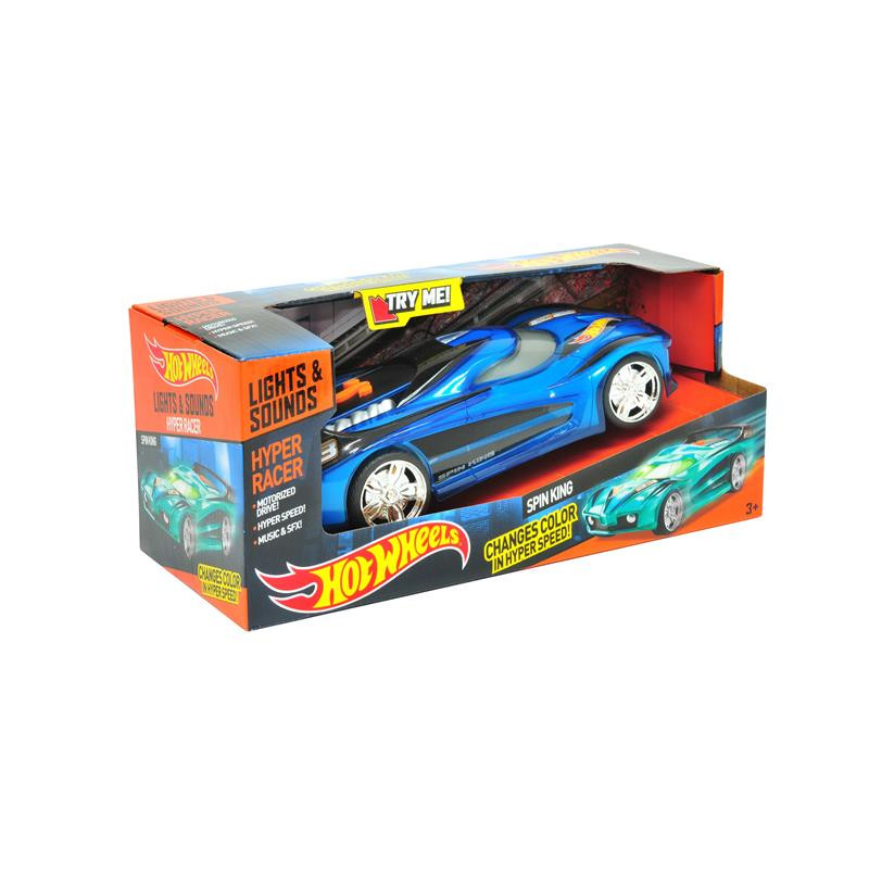 Hot Wheels vehiculo Hyper racer spin king