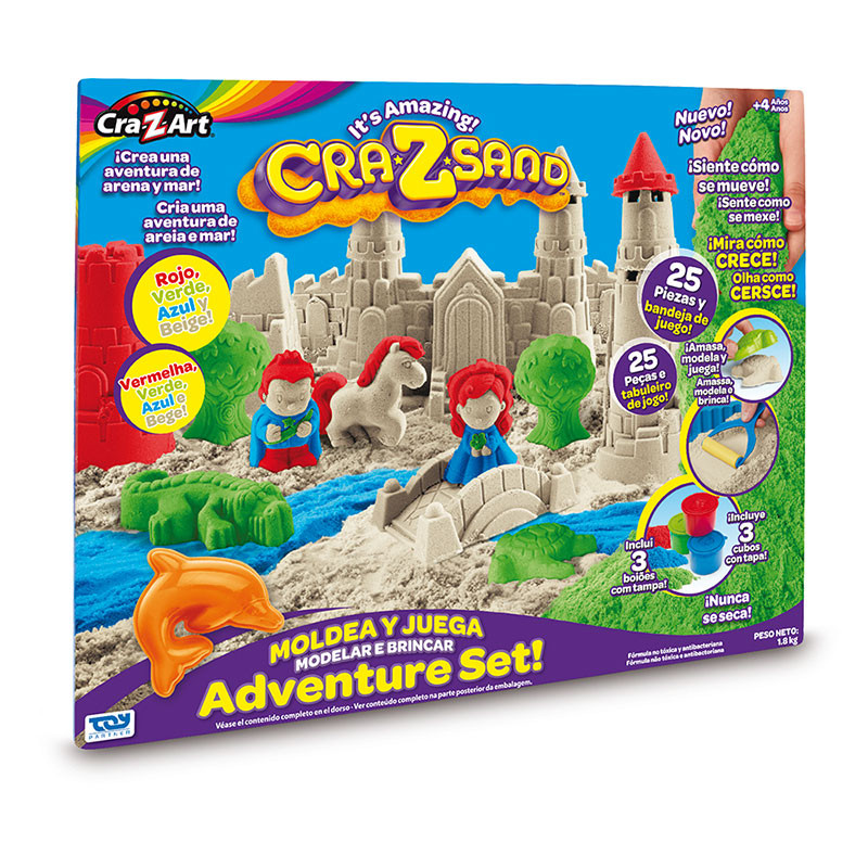 Cra-Z Sand  Ultimate Deluxe Set Arena Mágica